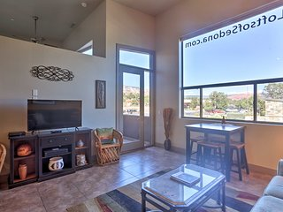 Modern Loft in West Sedona w/Balcony & Views!