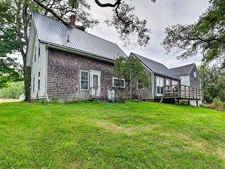 NEW! Quiet Islesboro Home w/ Private Cove & Grill!