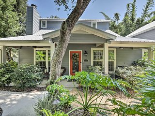 NEW! St. Augustine Home with Patio - Walk to Beach