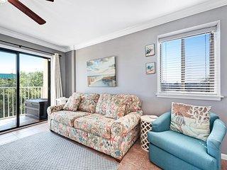 NEW! Vibrant family friendly seaside getaway w/indoor pools & hot tub. Near golf