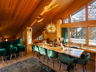 Casa Leopardo - Luxurious Chalet near St. Moritz