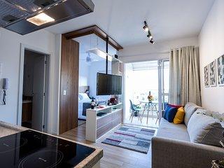 Studio na Vila Madalena, Vista Incrível! 7 andar