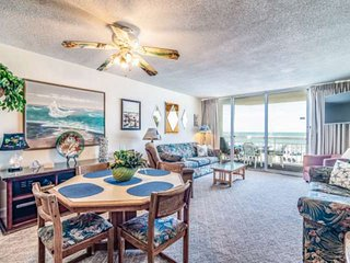 Waters Edge 112 - OCEANFRONT 1st floor, 3-BR - Free Water Park, Aquarium, Golf &