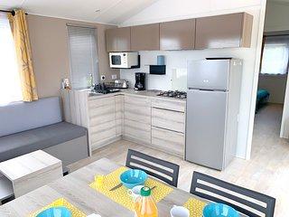 Lodge neuf dans résidence calme et sécurisée grande terrasse parking