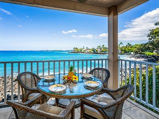 *New* Oceanfront 2BR ground floor condo, Sea Village 1105