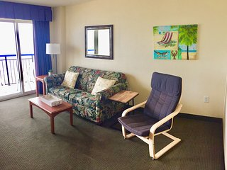 Cozy Direct Oceanfront Suite at Boardwalk Resort