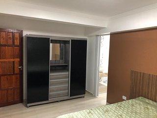 Apartamento aconchegante com suite na terra das cataratas