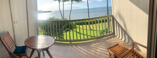 The View of Neighboring Islands from the Lanai