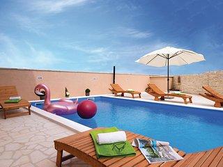 Stunning home in Pridraga w/ WiFi, 4 Bedrooms and Outdoor swimming pool (CDA452)