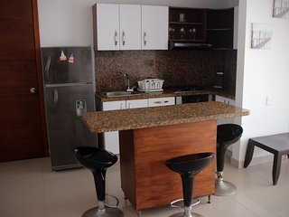 Barrio Bocagrande Apartment Sleeps 7 with Pool Air Con and WiFi - 5811185