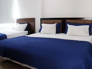 Barrio Bocagrande Apartment Sleeps 7 with Pool Air Con and WiFi - 5811193