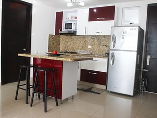Barrio Bocagrande Apartment Sleeps 7 with Pool Air Con and WiFi - 5811188