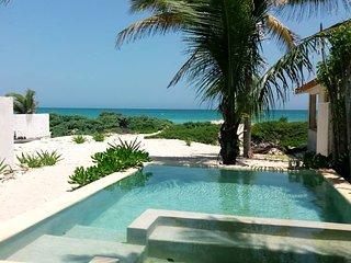 Casa at beach front