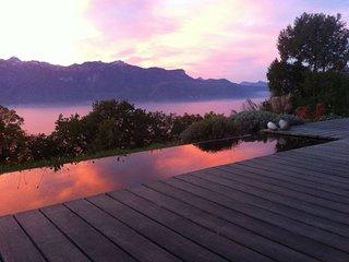 Modern artistic villa with unbeliveble lake views