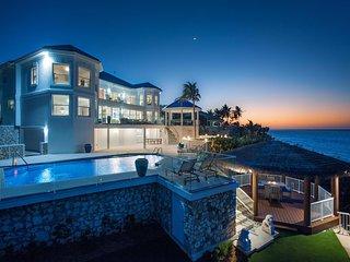 Great Bluff Estates: Luxury Villa with Pool, Cabanas, Multiple Decks & Great