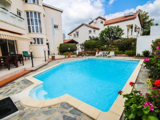Family villa with a private swimming pool
