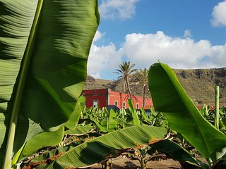 Casa del Mar. Historical House in a Banana Plantation by the Sea.