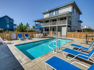 Duck Dreams   Oceanfront   Private Pool, Hot Tub, Dog Friendly