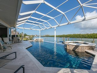 Luxury Ranch-Style Waterfront Home | 5-Bedroom w/ Heated Pool & Spa