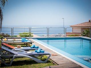 1.Charming Villa,Huge Terraces,Pool,Garden,BBQ!
