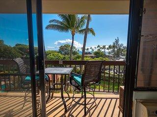 Maui Vista . Lovely Ocean View Condo Across Charley Young Beach