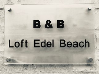 B&B loft edel beach