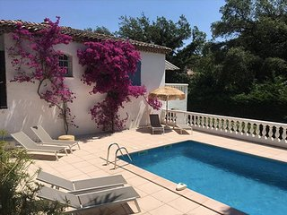Luxury house with private swimmingpool & garden near beach in Sainte-Maxime