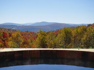 Charming Catskills Cabin on 34 acre estate with stunning views