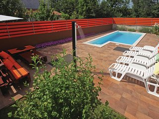 Awesome home in Loborika w/ Outdoor swimming pool, WiFi and 3 Bedrooms (CIL055)