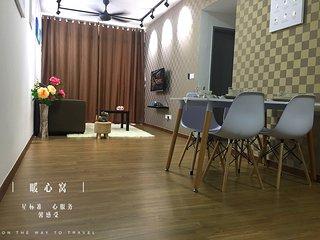 The Warm Suite 3 bedroom condo 6-10pax
