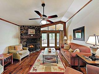 New Listing! 'Bear Creek Cabin' w/ Private Dock on Lake & Resort Amenities