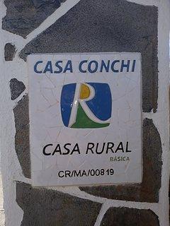 Numero  de  Licencia turistica de casa conchi.