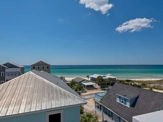 Steps to Private Beach Access!! Breathtaking Gulf & Dune View! Community Pool/Lu