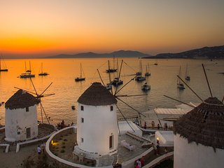 The Iconic Windmill of Mykonos