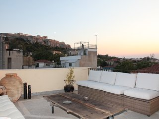 Two storey penthouse in Plaka with Acropolis views