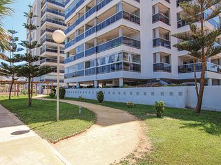 Beautiful apartment in La Manga w/ WiFi, Outdoor swimming pool and 1 Bedrooms