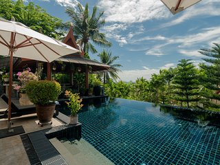 Classy 4-Bedroom Seaview Villa at Surin Beach