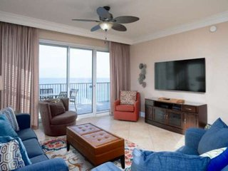Tops'l Tides End Unit On The 10th Floor With Wrap Around Balcony. Free Wifi/Fami