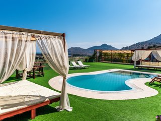 Kolympia Villa Sleeps 8 with Pool and Air Con
