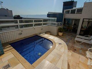 Duplex, piscina, gourmet e vista panoramica