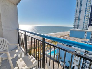 Book your Winter Stay Now! Oceanfront! 3 balconies