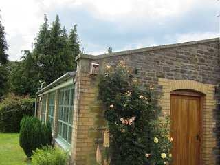 Self-Catering Tegfan Garden Suite, Black Mountains, Brecon Beacons National Park