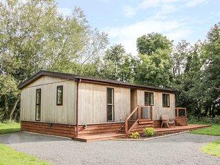 ALDER LODGE, WiFi, woodburner, fishing, riverside cottage near Clun