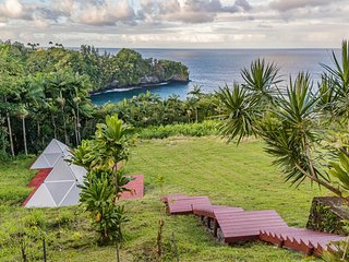 Glamping Pyramid | Oceanview | Yoga and Breakfast Included | Upper