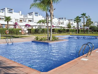 Amazing apartment in Alhama de Murcia w/ Indoor swimming pool, WiFi and Outdoor