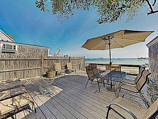 Brand-New Waterfront Condo on the Cape w/ Decks & Patio - Walk to Bay!
