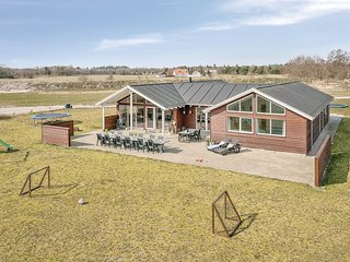 Beautiful home in Albaek w/ Sauna, WiFi and 7 Bedrooms (A18500)