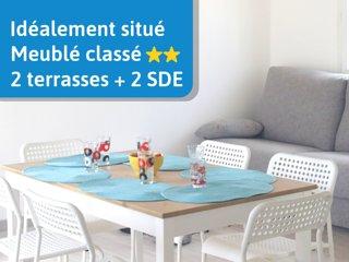 Haut du Chalet Logikat / 1st floor of Chalet Logikat up to 4 persons