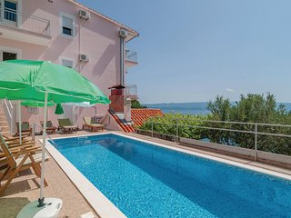 Beautiful home in Omis w/ WiFi and 8 Bedrooms