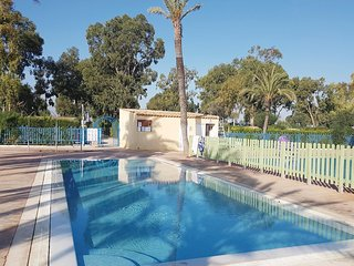 Awesome home in Camping Caravana La Ma w/ Outdoor swimming pool, Outdoor swimmin